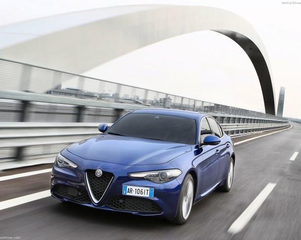 Alfa Romeo Giullia voorkant