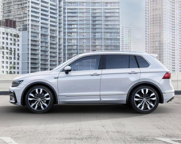 Volkswagen T-Roc zijkant