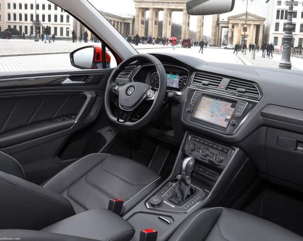 Volkswagen T-Roc interieur