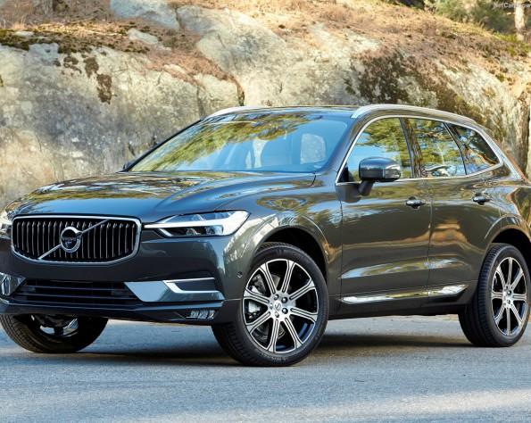 Volvo XC60 lease voorkant schuin