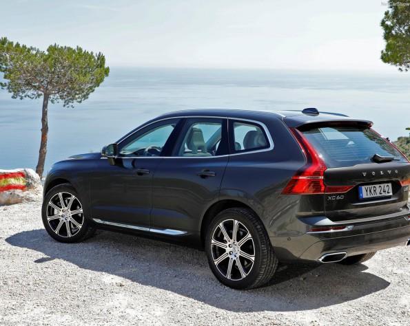 Volvo XC60 lease achterkant schuin