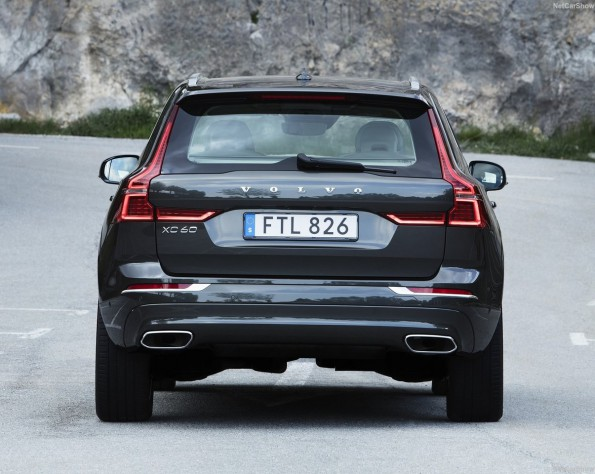 Volvo XC60 lease achterkant