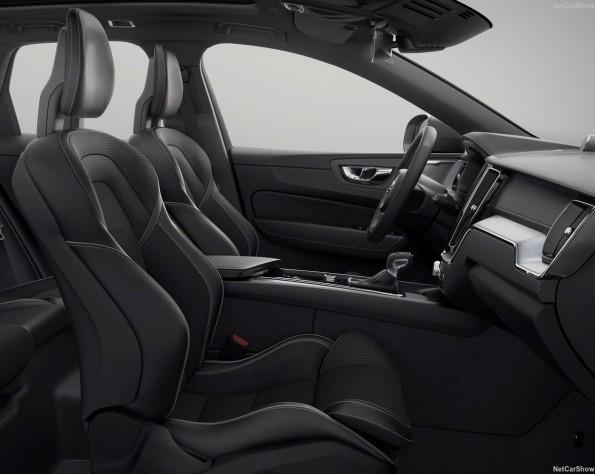 Volvo XC60 lease interieur voor