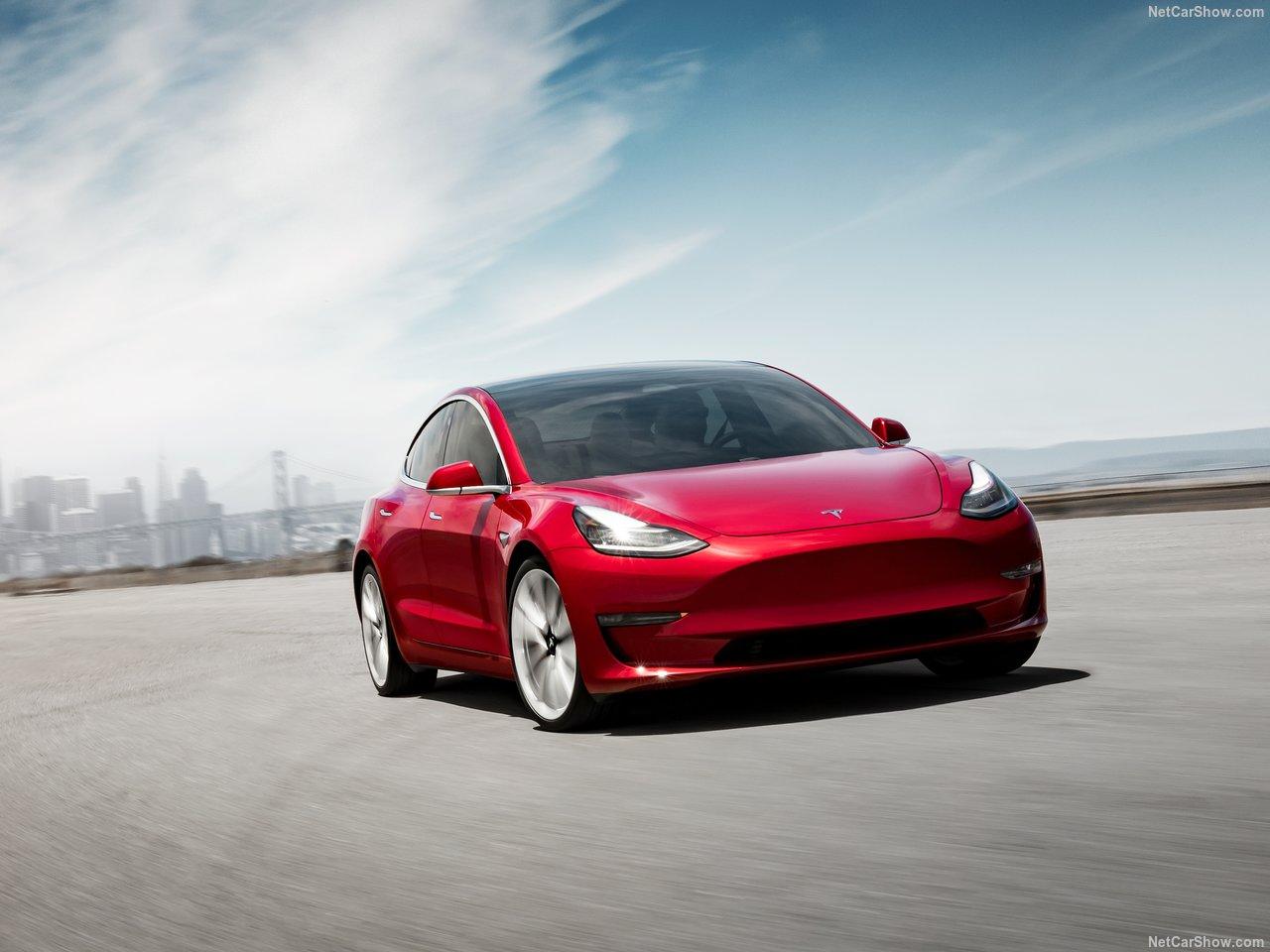 Tesla Model 3 voorkant