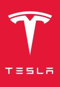 logo van Tesla