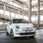 Fiat 500 foto van de voorzijde