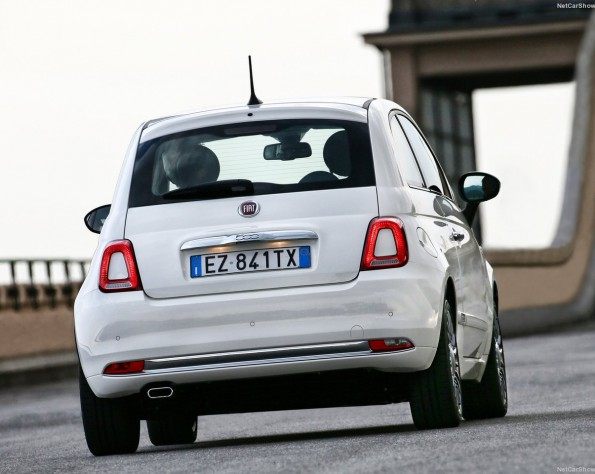 Fiat 500 achterkant