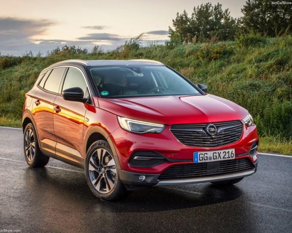 Opel Grandland X voorkant