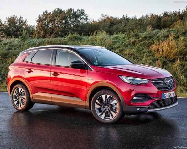 Opel Grandland X voorkant schuin