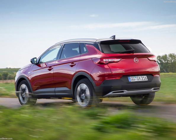 Opel Grandland X achterkant