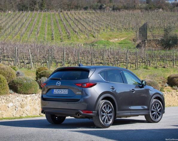 Mazda CX-5 achterkant