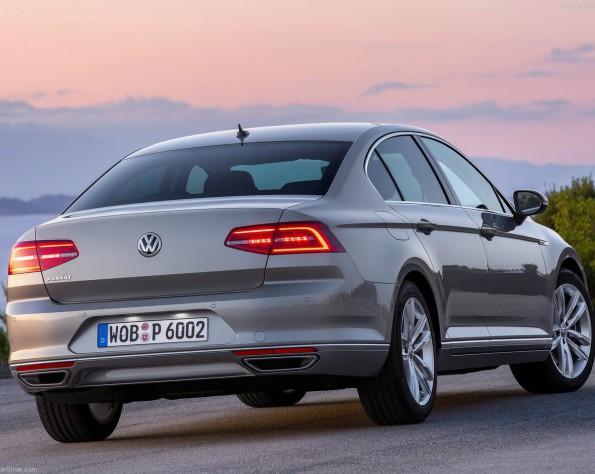Volkswagen Passat achterkant