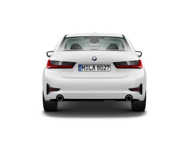 BMW 3-serie achterkant