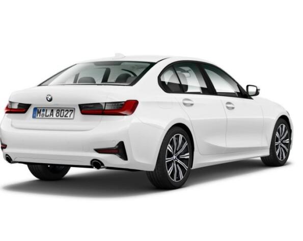 BMW 3-serie achterkant schuin