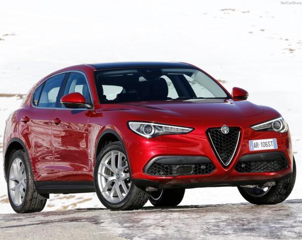 Alfa Romeo Stelvio voorkant