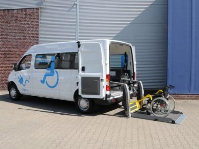 Saic Maxus rolstoel vervoer