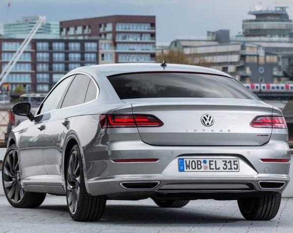 Volkswagen Arteon achterkant