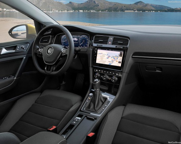 Volkswagen Golf interieur