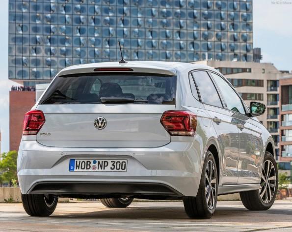 Volkswagen Polo achterkant