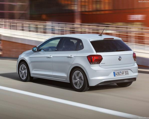 Volkswagen Polo achterkant schuin