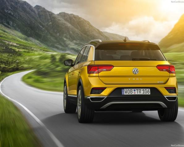 Volkswagen T-Roc achterkant