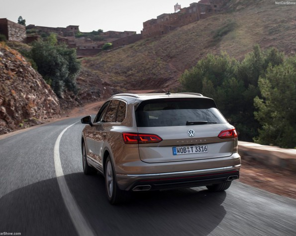 Volkswagen Touareg achterkant