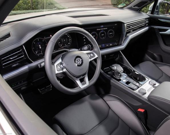 Volkswagen Touareg stuurwiel