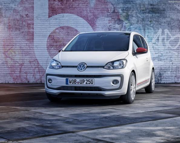 Volkswagen up! voorkant naar links