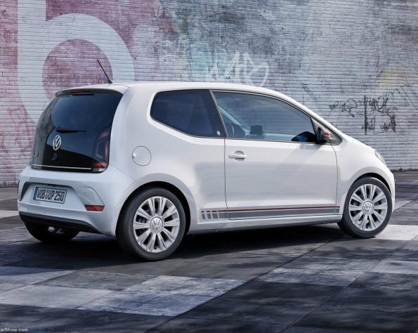 Volkswagen up! achterkant schuin