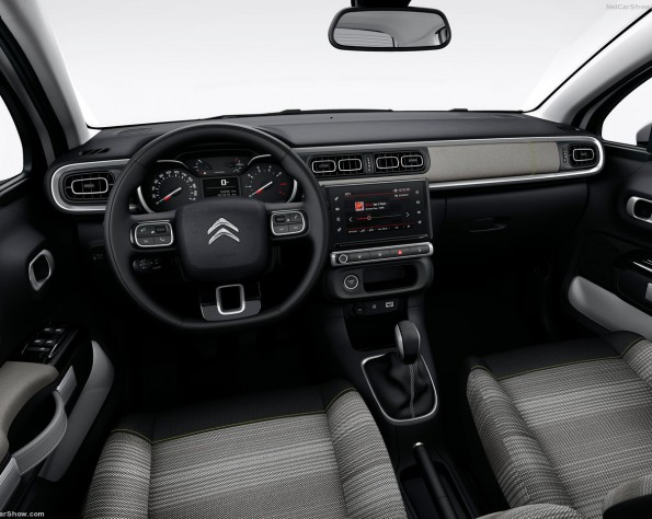 Citroen C3 dashboard