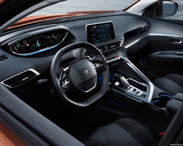 Interieur Peugeot 3008
