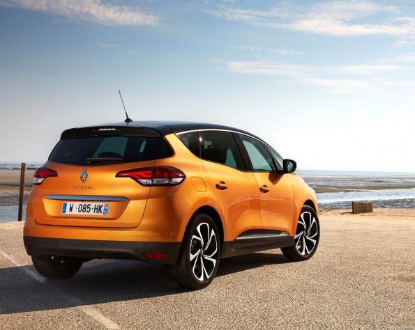 Renault Scenic achterkant