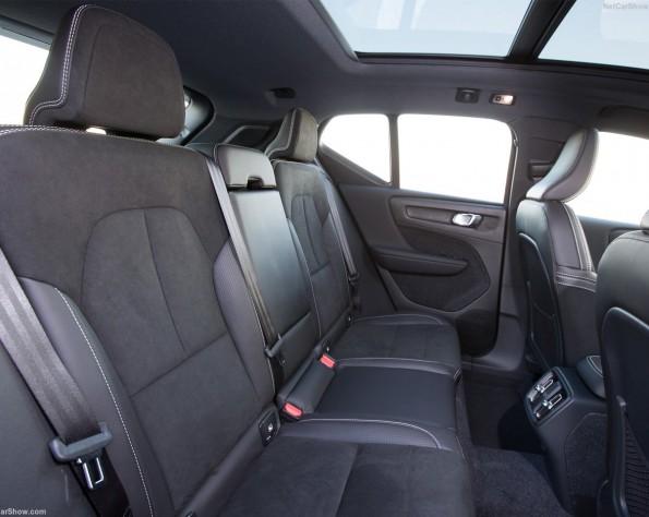 Volvo XC40 achterbank