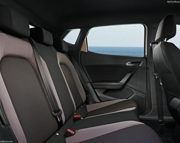 Seat Ibiza achterbank