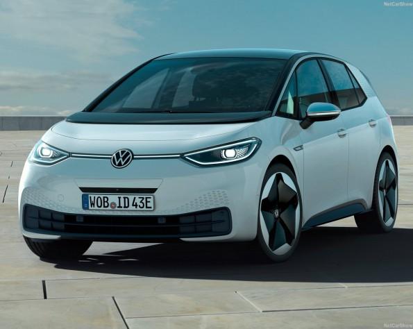 Volkswagen ID 3 lease voorkant schuin naar links