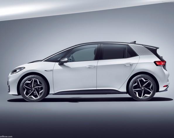 Volkswagen ID 3 lease zijkant