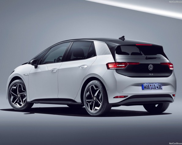 Volkswagen ID 3 lease achterkant