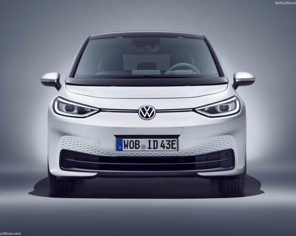 Volkswagen ID 3 lease voorkant