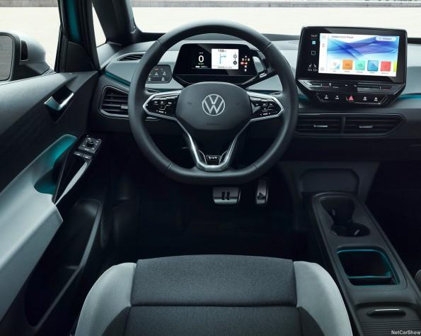 Volkswagen ID 3 lease stuurwiel