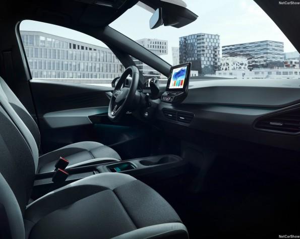 Volkswagen ID 3 lease voor interieur