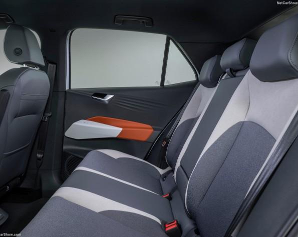 Volkswagen ID 3 lease achterbank