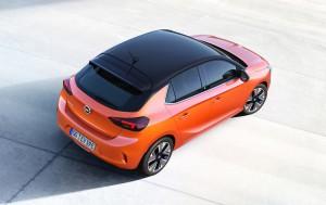 Opel Corsa-e bovenkant