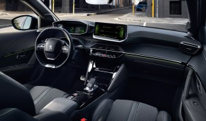 Peugeot e-208 interieur