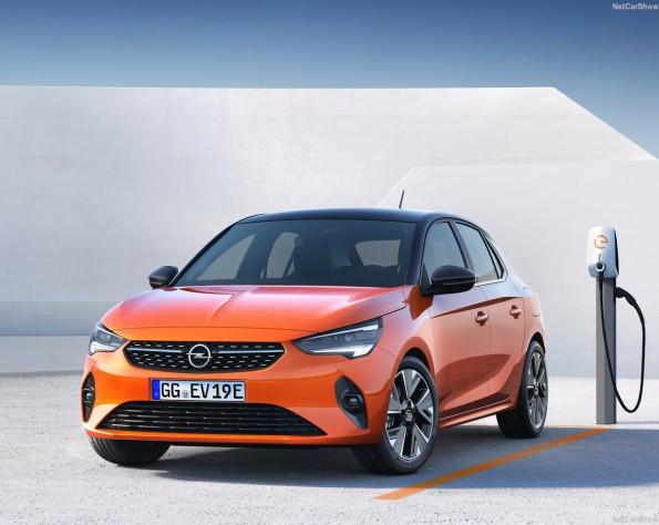 Opel Corsa-e voorkant schuin links