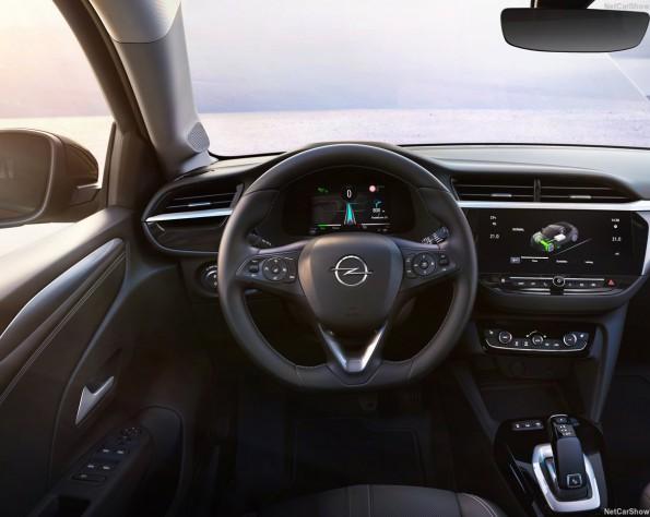 Opel Corsa-e stuurwiel