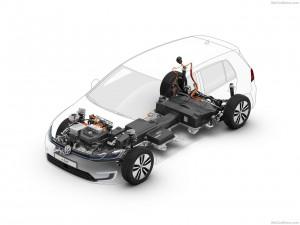 Volkswagen e-Golf accu