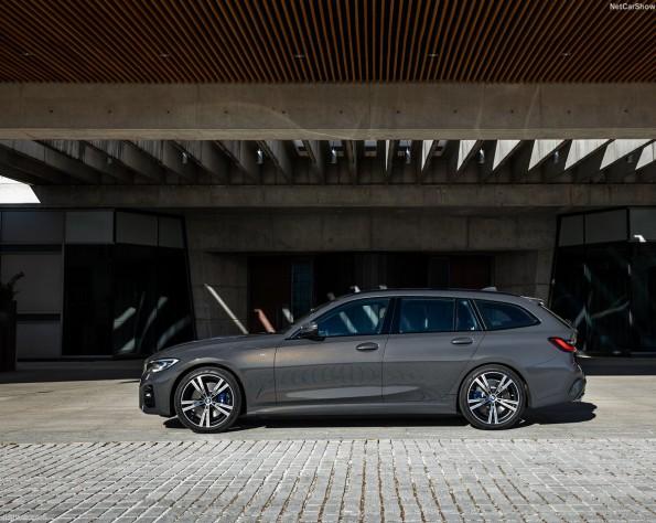 BMW 3-serie touring zijkant