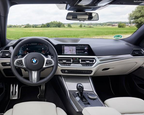 BMW 3-serie touring dashboard