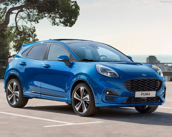 Voorkant Ford Puma lease