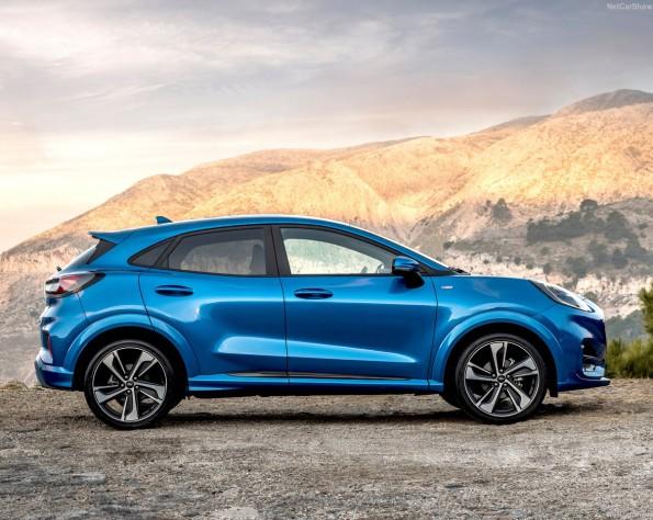 Ford Puma lease zijkant schuin